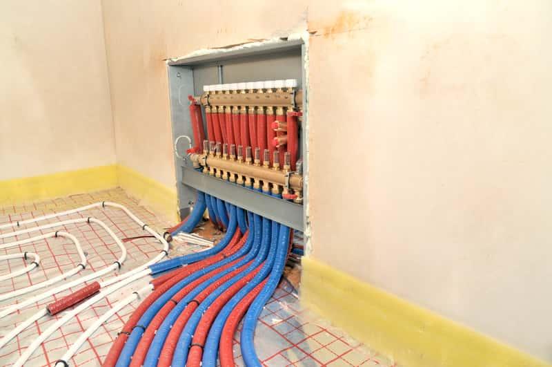 Schemat instalacji ogrzewania podłogowego krok po kroku